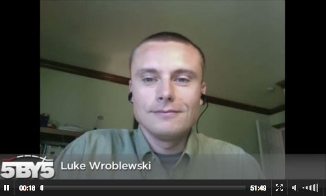 Click to play Luke Wroblewski: Mobile First