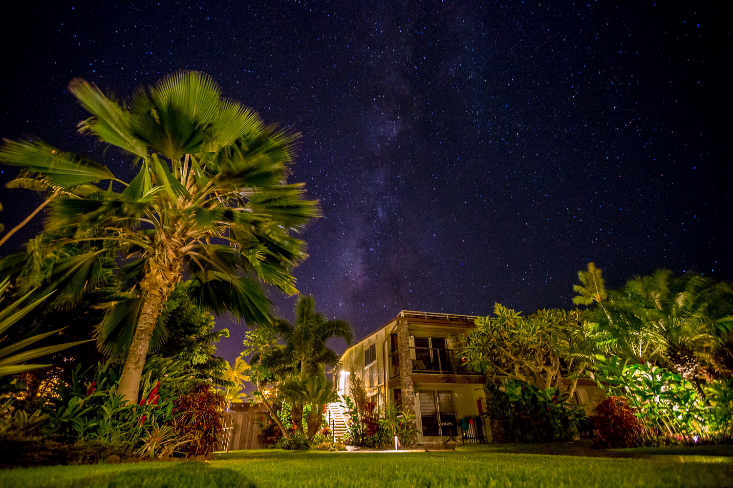 Milky Way galaxyrise from Maui (at the Mauian hotel)