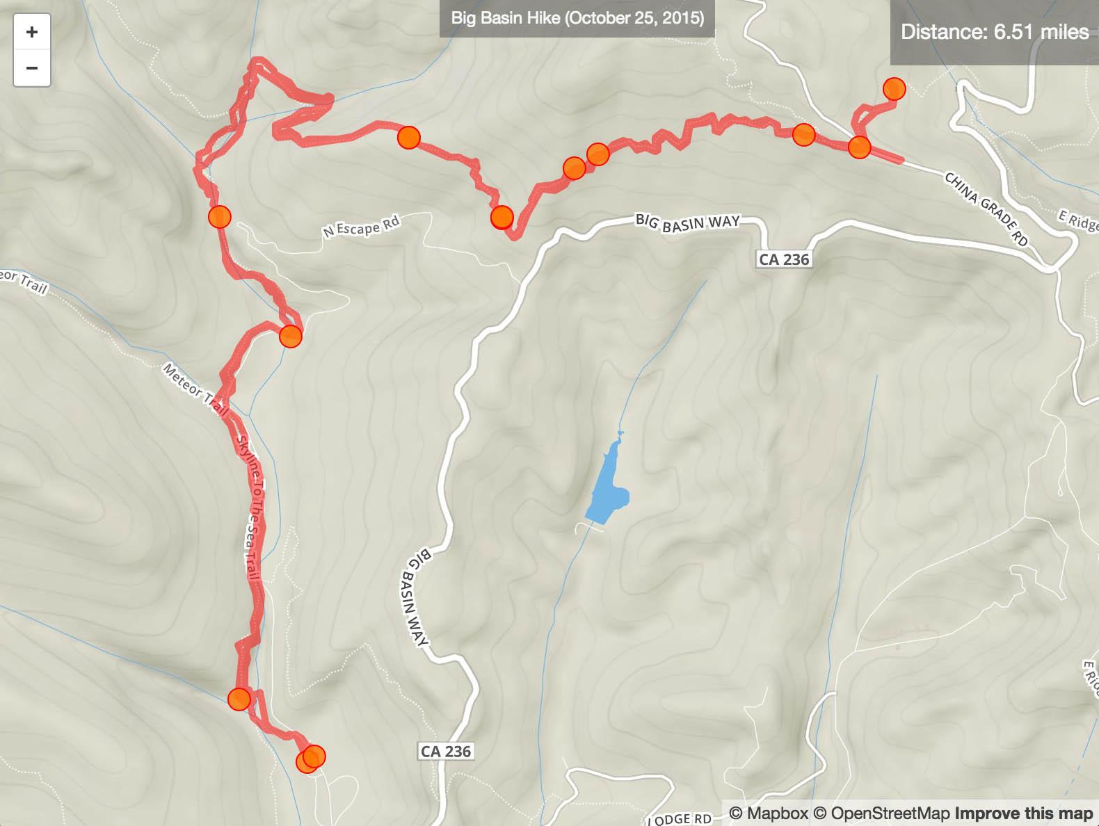 Big Basin October Hike
