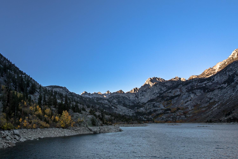 Mountains at Lake Sabrina