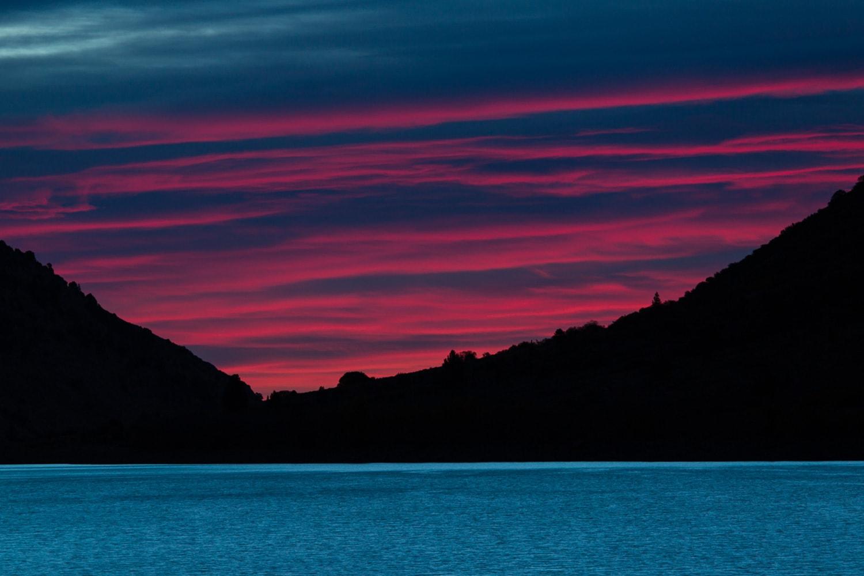 Lundy Lake sunrise